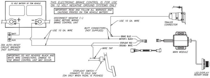 curt brake controller wiring diagram  kohler engine wiring