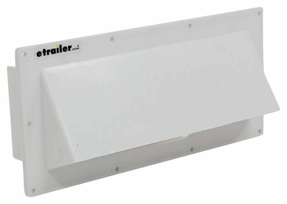 Ventline V2111-13 White Hood Louver with Damper