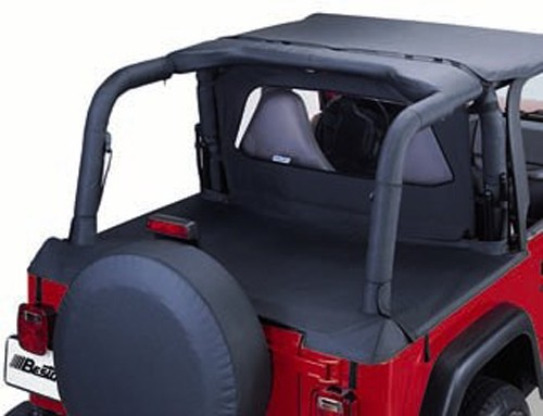 Bestop Sport Bar Cover For Jeep Black Diamond 2003