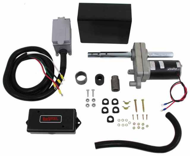bulldog powered-drive kit for oem 2-speed planetary jacks w/ 12,000