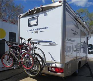bike rack for a motor home or rv