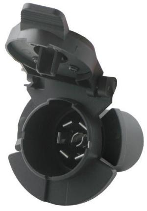 Twistin, 7Pole, RVStyle Trailer Connector for Chevy and GMC Vehicles  Vehicle End Pollak
