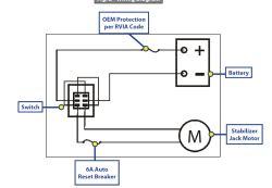 Wiring Diagram For Lipper Stabilizer Jacks   etrailer