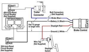 Installing Brake Controller On 2003 Toyota Taa With 4
