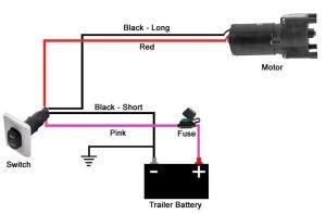 Wiring Guide for Installing 5th Wheel Landing Gear Motor Switch | etrailer