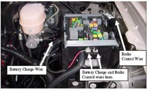 2008 Chevrolet Silverado 2500 12 Volt Trailer Towing Wire