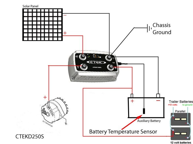 Dual Battery Wiring Diagram Excellent Noco Battery Isolator