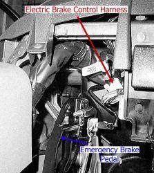 Where is Brake Controller Install Port on a 2016 Nissan Titan XD | etrailer