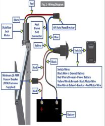 Wiring Diagram for Lippert Stabilization Jack LC298707 | etrailer