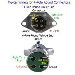 Wiring Diagram Remendation for 4Way Round Trailer
