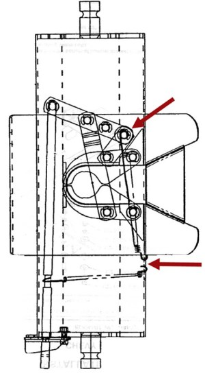 Diagram for Replacing 5th Wheel Hitch Head Spring