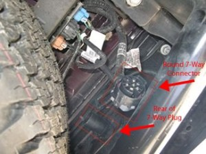 How to Connect Factory Wiring on 2008 GMC Sierra 2500 HD to Pollak TwistIn 7Way # PK11916