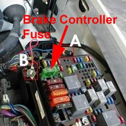 Fuse Location for Trailer Brake Controller on a 2005 Chevy Silverado 1500 | etrailer