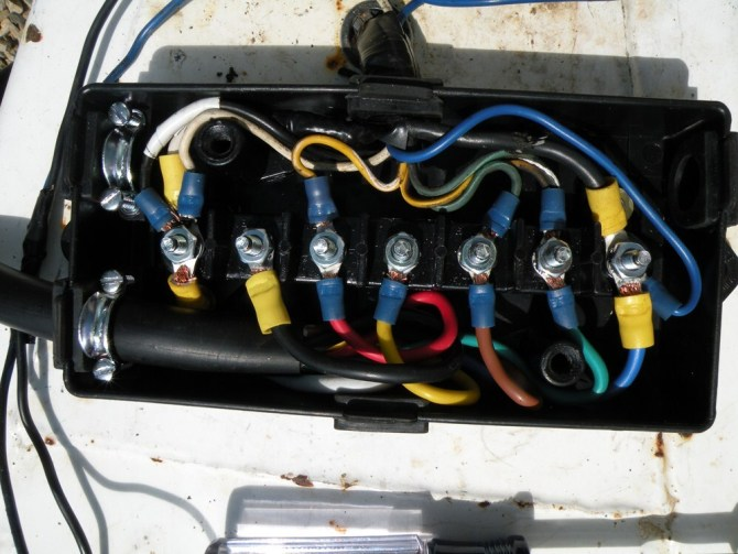 pj trailer wiring with junction box diagrams  robalo wiring
