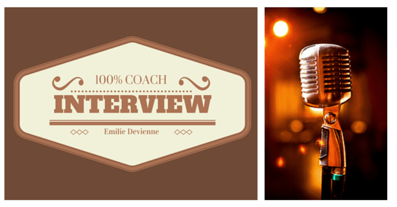 Interview 100% coach : Emilie Devienne