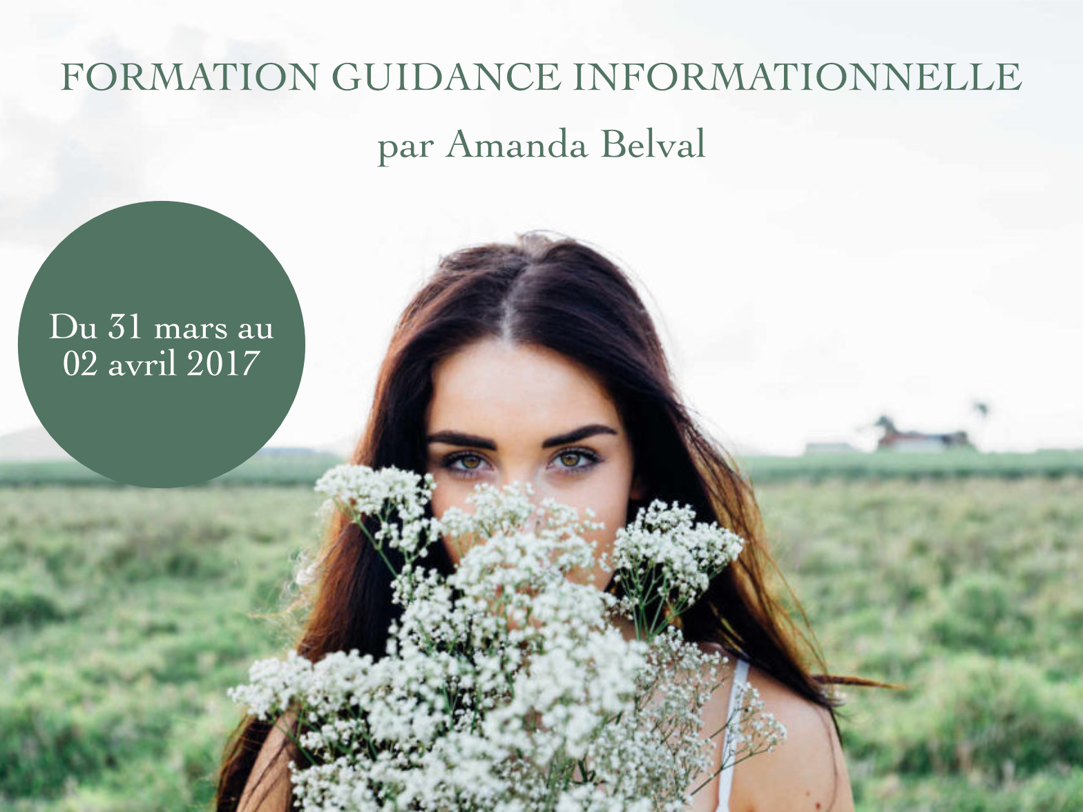 Formation Guidance Informationnelle en mars 2017 - Être Soi