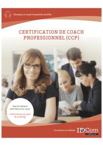 Certification de coach professionnel module 4 - pascal mallet - isabelle david - etre soi