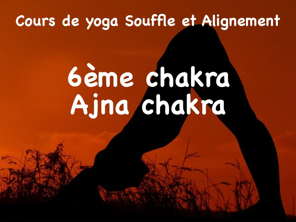 cours de yoga - ajna chakra - sandra grange - être soi