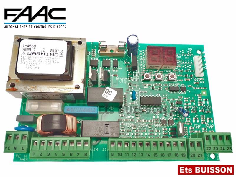Faac Carte Lectronique De Commande 455D Ref 790917