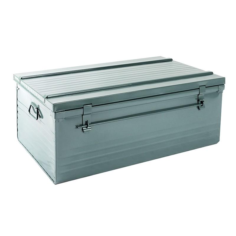 malle cantine sp 170 litres cantine metallique acier inox ou alu