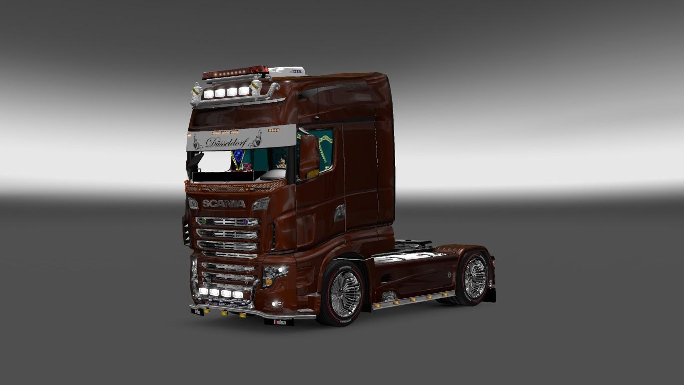 SCANIA R700 V2 121 Truck Euro Truck Simulator 2 Mods