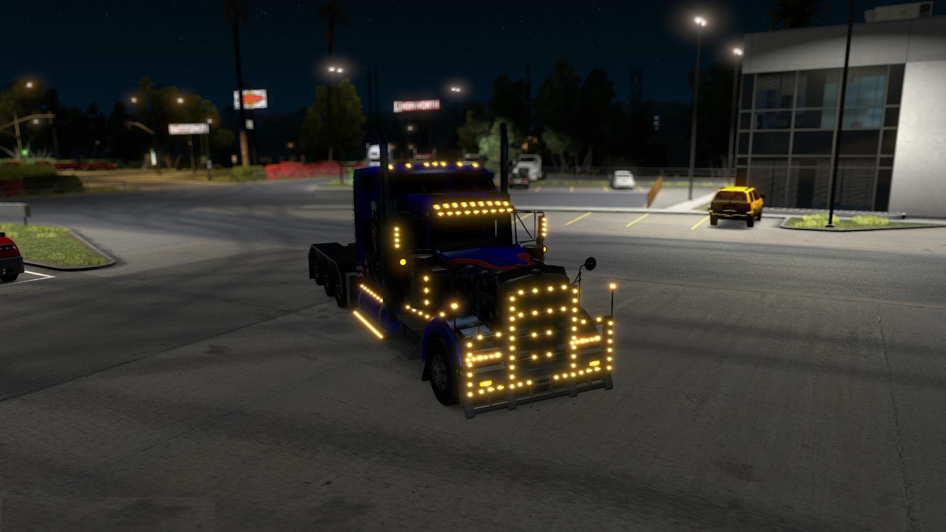 Kenworth W900 Tri Drive By Bu5ted V4 Upd 04 07 17 Ats
