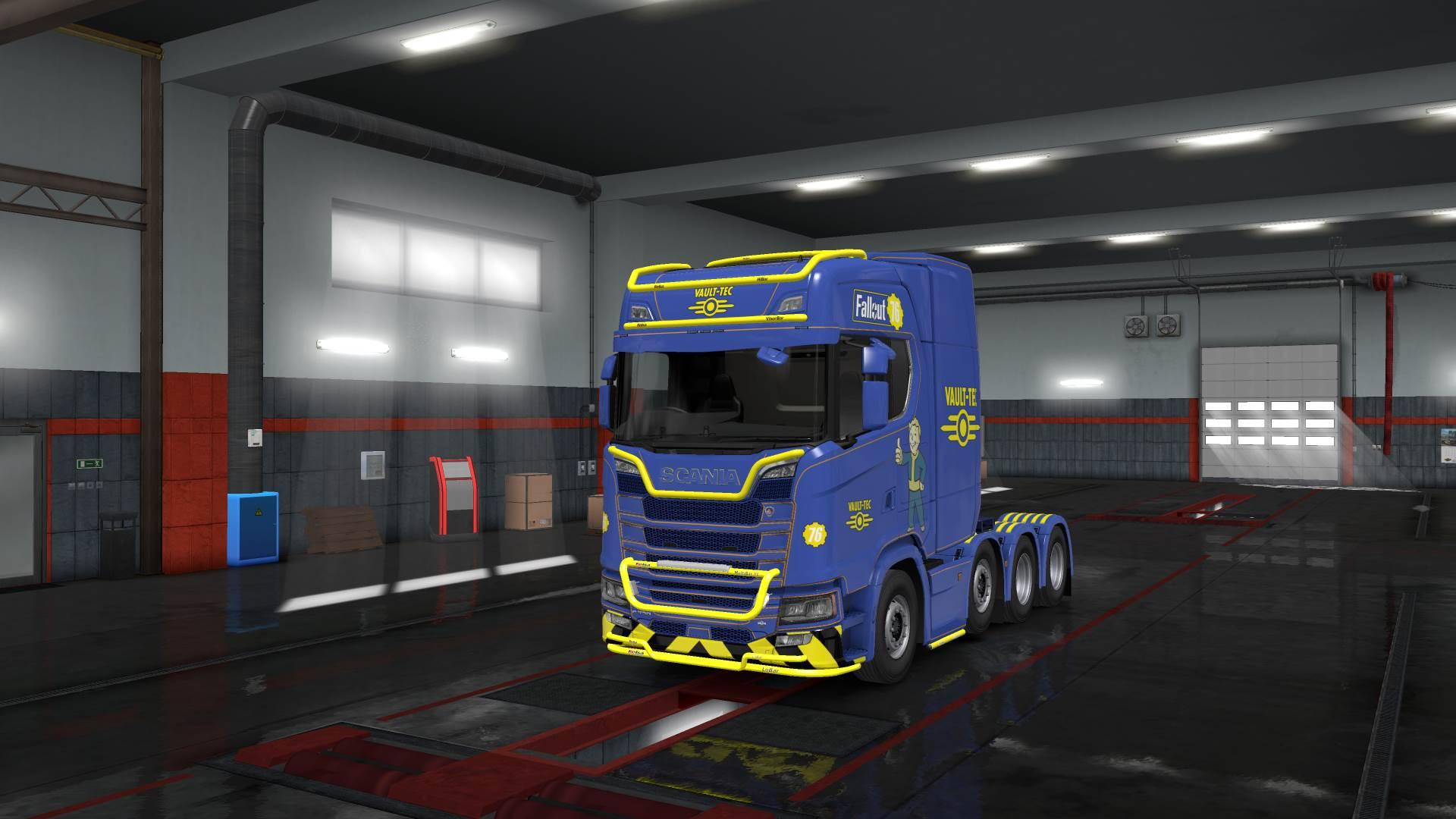 Fallout 76 Truck And Trailer Skin Pack 1 33 Ets2 Euro
