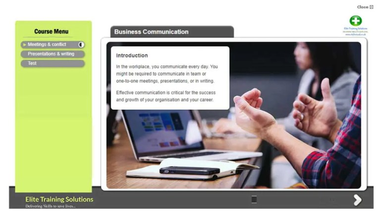E-Learning Business Communication Skills