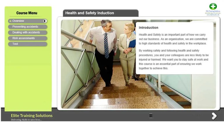 E-Learning Health and Safety Introduction Course