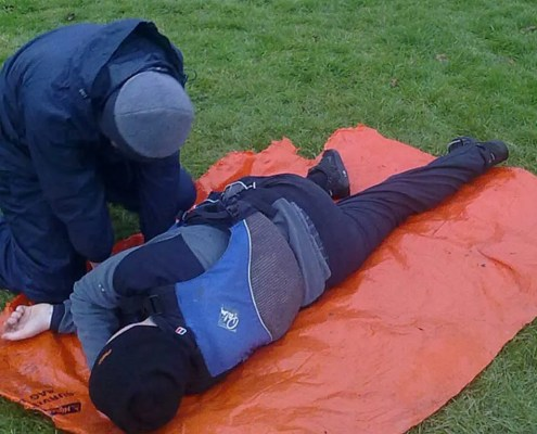 Outdoor Activity Emergency First Aid Training