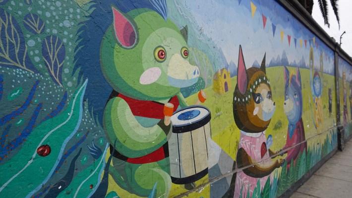 Lima - Street art à Barranco