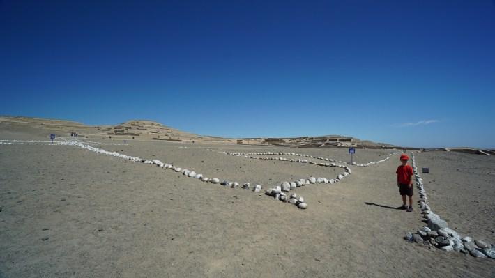 Nazca - Les ruines de Cahuachi