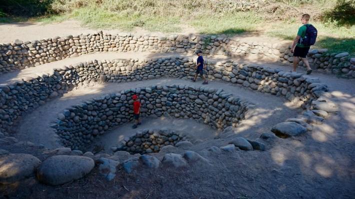 Nazca - Les aqueducs de Cantalloc