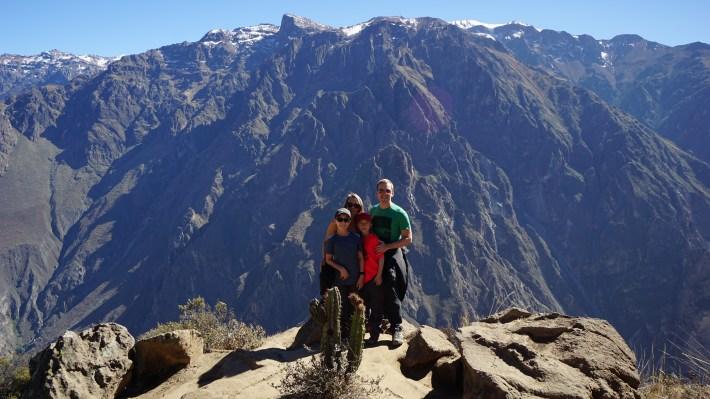 Arequipa, le canyon de Colca et tout le tralala - Devant le canyon