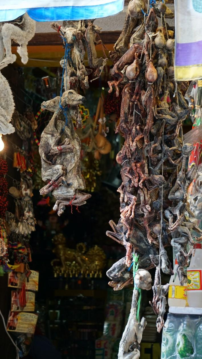 Ça gaz à La Paz - Le marché des sorcières