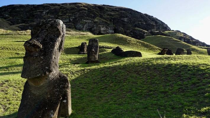 Île de Pâques - À la recherche de Rapa Nui pool - La carrière