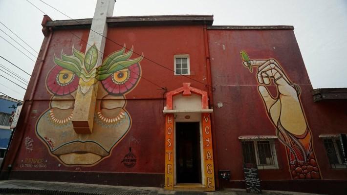 Trois petits tours au Chili et puis s'en vont en Patagonie - Street art #4