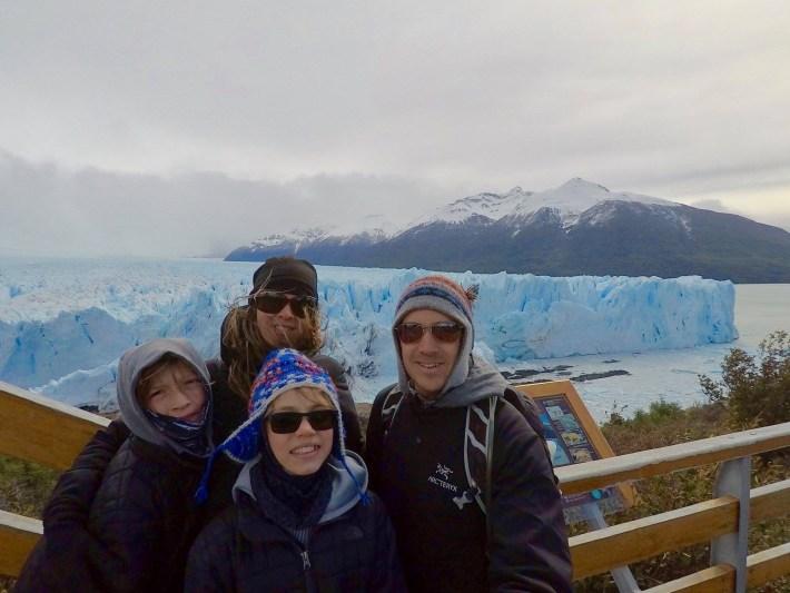Descente au bout du monde - Perito Moreno de proche
