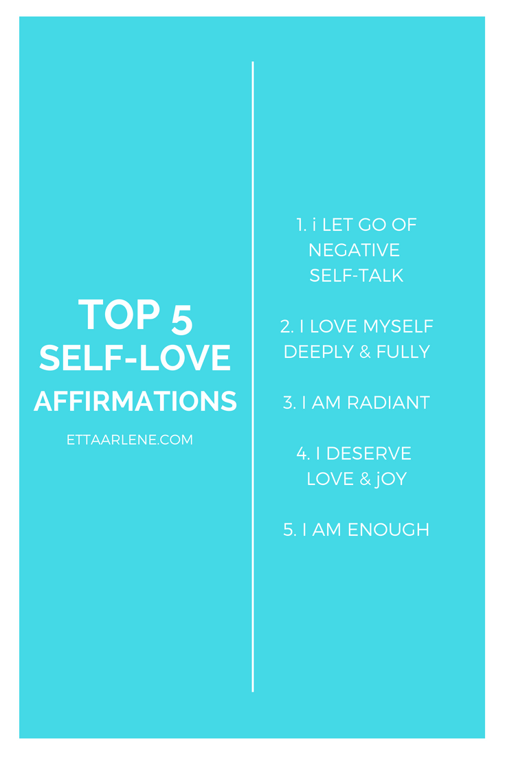 5 affirmations of love