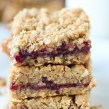 Lillabelle's Strawberry Oatmeal Bar