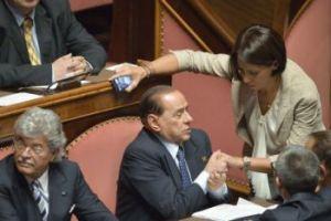 Silvio Berlusconi al Senato