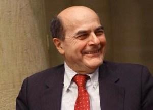 L'ex segretario del Pd, Pier Luigi Bersani