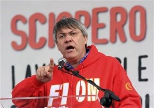 Maurizio Landini, segretario della Fiom-Cgil