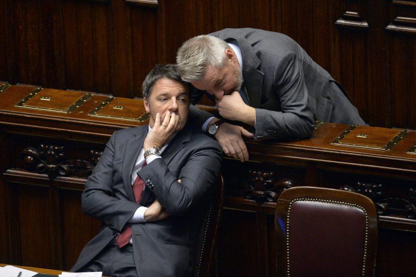 Renzi e Guerini