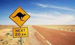 je veux partir en australie