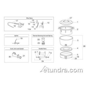 Rinnai Rice Cooker Parts | eTundra