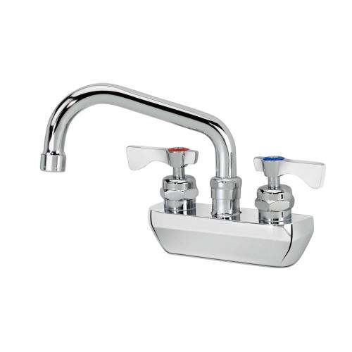 4 in royal series wall mount hand sink faucet w 6 in spout