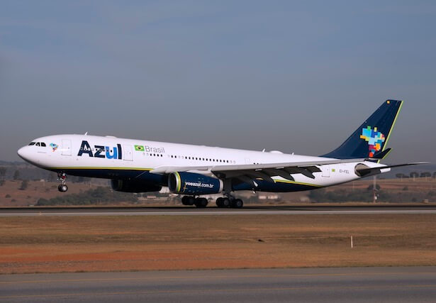 Azul launches new nonstop flight from Fort Lauderdale to Belo Horizonte, Brazil