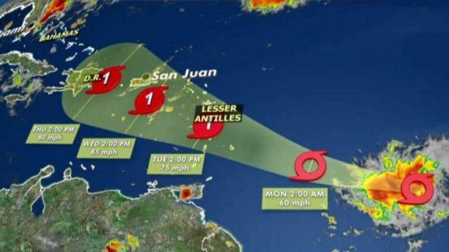 Caribbean Airlines cancels flights due to tropical storm Dorian