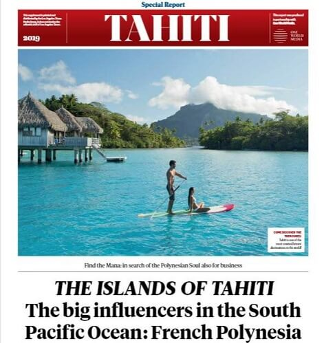 Tahiti Tourism offered full page ad in LA Times for mistake